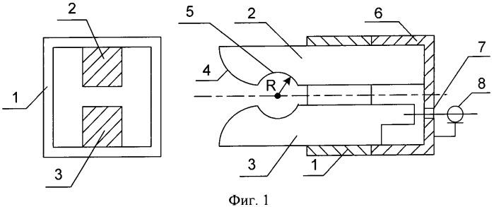Малогабаритная широкополосная волноводно-рупорная антенна и конструкция антенной решетки на ее базе
