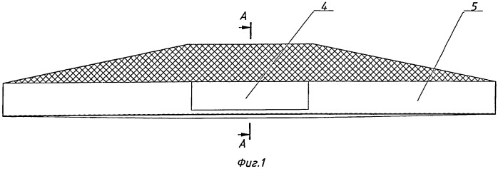 Корпус жатки зерноуборочного комбайна с подавателем пневматическим