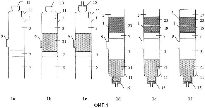 Способ и устройство для последовательной выдачи двух текучих сред, содержащее разделитель