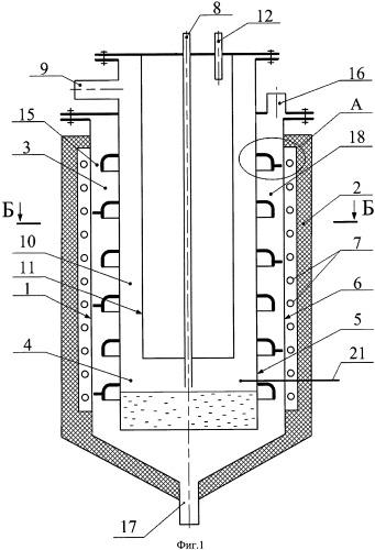 Десублимационный аппарат