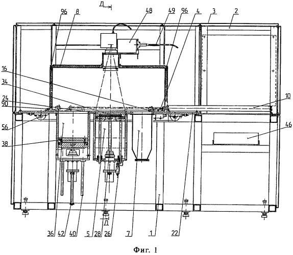 Установка для изготовления деталей методом послойного синтеза