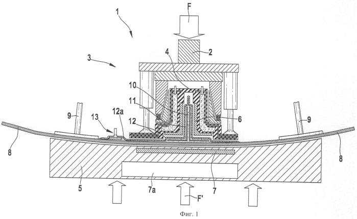 Способ по меньшей мере частичного восстановления или замены усиливающего элемента конструкции из волокнистого композита и соответствующее соединительное устройство