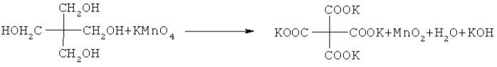 Способ получения 2,2-бис-(карбокси)-1,3-пропандикарбоновой кислоты окислением пентаэритрита