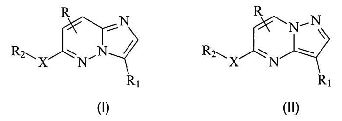 Производные имидазо [1,2-b]пиридазина и пиразоло[1,5-a]пиримидина и их применение в качестве ингибитора протеинкиназ