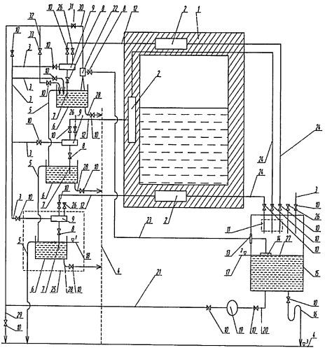 Способ охлаждения узлов металлургических печей и устройство для его осуществления
