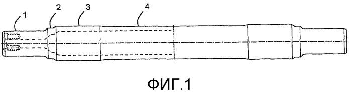 Ось из бесшовной трубы для железнодорожного транспортного средства и способ изготовления оси из бесшовной стальной трубы для железнодорожного транспортного средства