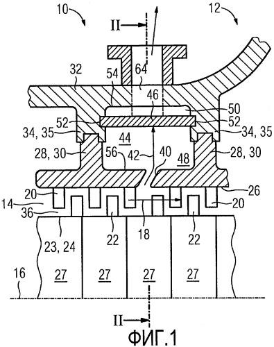 Компрессор для газовой турбины