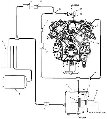 Способ работы двигателя внутреннего сгорания