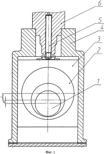 Устройство для привода плунжера топливного насоса высокого давления с кривошипно-ползунным механизмом