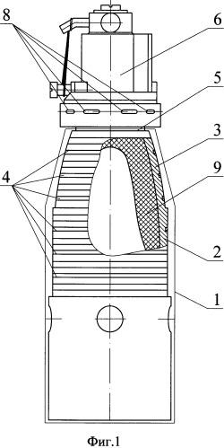 Корпус поражающего элемента кассетного боеприпаса