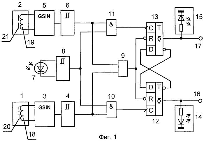 Селективное устройство контроля направления перемещения и положения нагретых металлических изделий