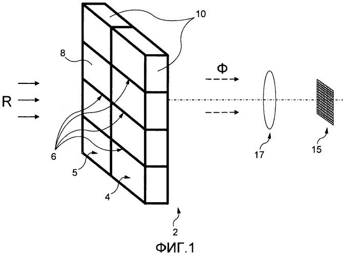 Сцинтиллятор для устройства формирования изображения, сцинтилляторный модуль, устройство формирования изображения с таким сцинтиллятором и способ изготовления сцинтиллятора