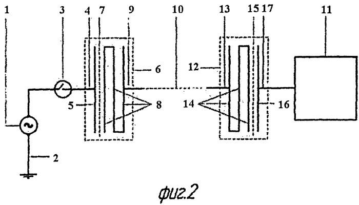 Способ и устройство для передачи электрической энергии