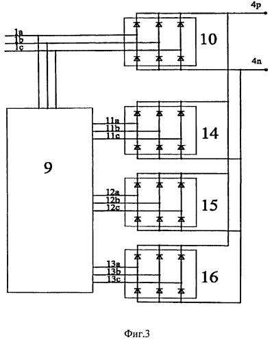 Многопульсное выпрямительное устройство и автотрансформатор