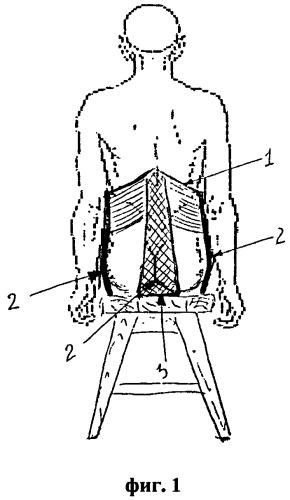 Устройство для вытяжения и разгрузки позвоночника