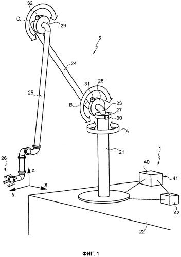 Устройство с прямым управлением, в частности с пропорциональным и/или линейным управлением, для системы погрузки и/или разгрузки жидкости