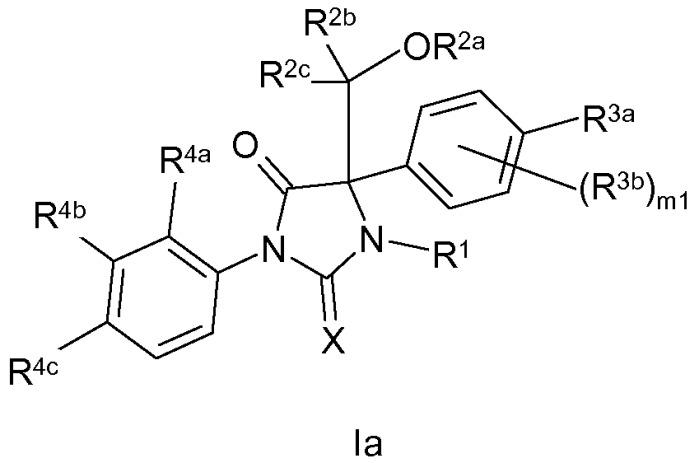 Новые имидазолидиновые соединения как модуляторы андрогенных рецепторов