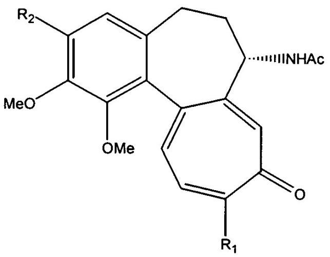 Способ гликозидирования колхицина и тиоколхицина