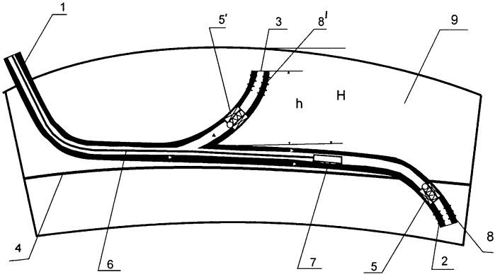 Способ разработки залежей нефти горизонтальными скважинами