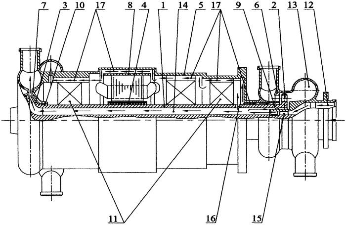 Турбоэлектрогенераторный агрегат