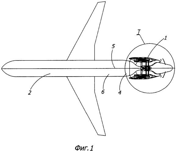 Силовая установка самолета