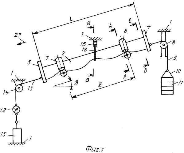 Стенд для исследования параметров улавливания оборвавшейся ленты наклонного конвейера с использованием подвесных канатных ловителей
