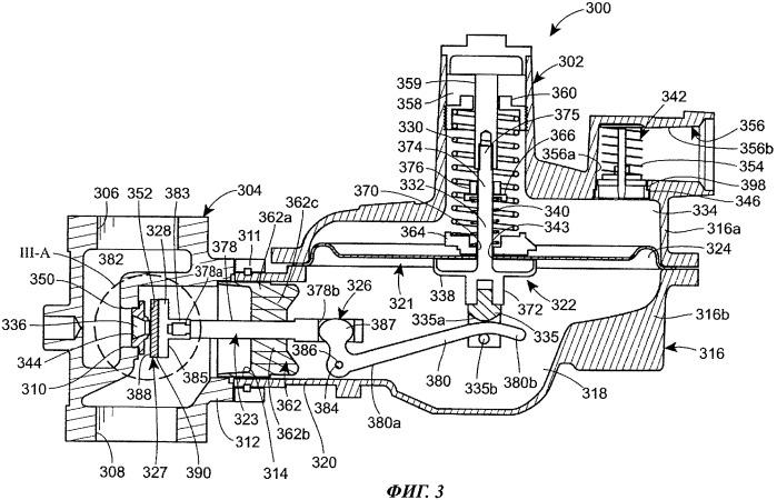 Клапанный порт для газового регулятора с улучшенной пропускной способностью
