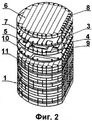 Трехмерное электронное устройство