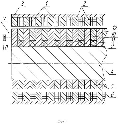 Цилиндрический линейный асинхронный двигатель