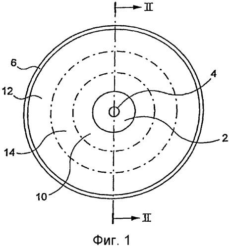 Диск, используемый в сельском хозяйстве, в частности диск, используемый для вспашки