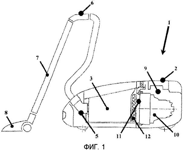 Устройство для автоматического регулирования мощности всасывания пылесоса