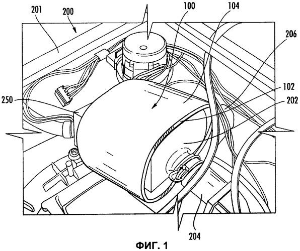 Дренажное насосное устройство для посудомоечной машины