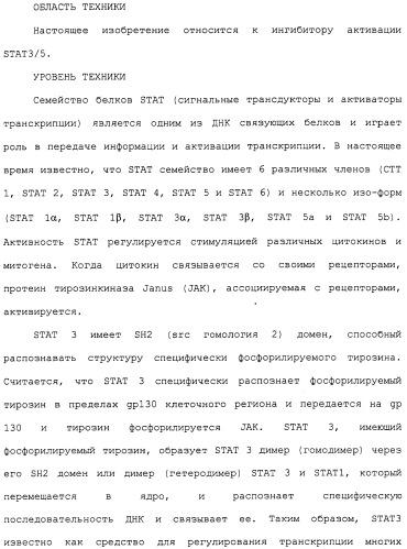 Ингибитор активации stat3/5