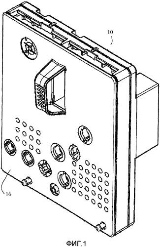 Хирургическая кассета с акустическим воздушным отражателем