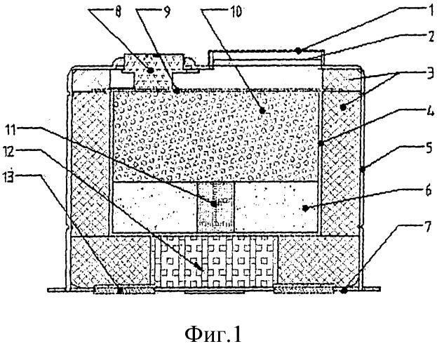 Сверхминиатюрное автоматическое устройство пожаротушения горячим аэрозолем