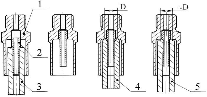 Способ сборки наконечников гибких шлангов