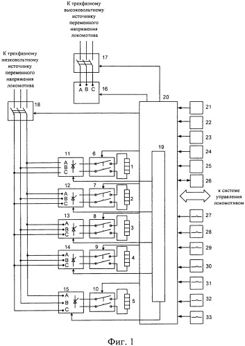 Система обеспечения микроклимата в кабине управления локомотива