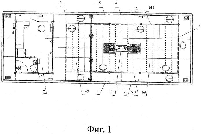 Плавучая топливозаправочная станция, цистерна для плавучей топливозаправочной станции и способ изготовления плавучей топливозаправочной станции