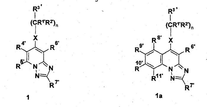 Триазоло[1,5-a]хинолины в качестве лигандов рецептора аденозина а3
