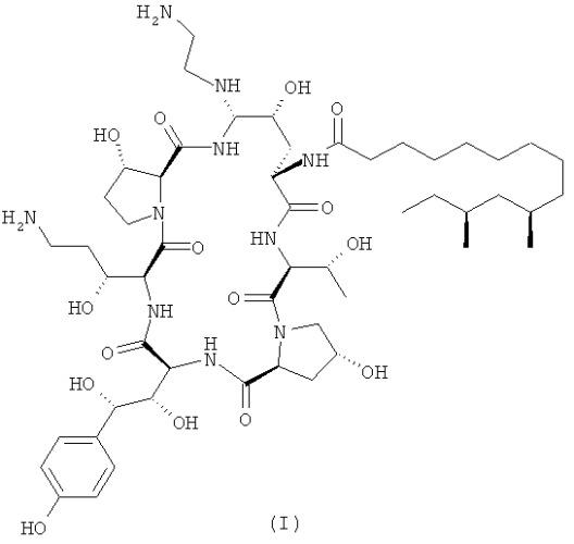 Способ получения каспофунгина и его промежуточных соединений