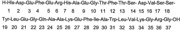 Изобретение, относящееся к glp-1 и эксендинам