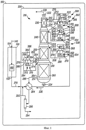Огневой нагреватель для осуществления процесса конверсии углеводородов