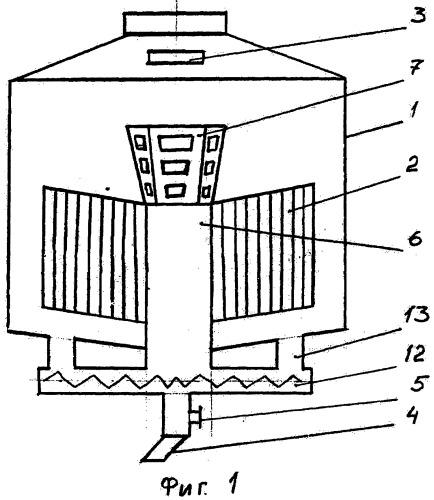 Вакуум-аппарат для уваривания утфеля
