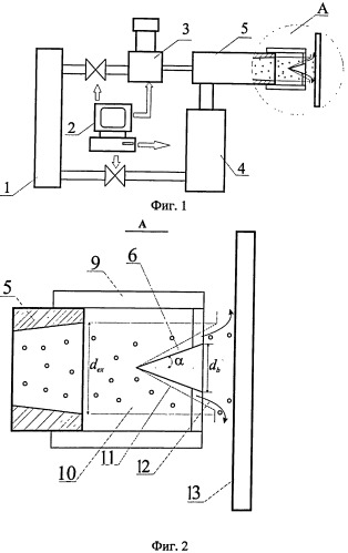 Способ напыления покрытия на изделие из натурального камня или из металлического материала и устройство для его осуществления