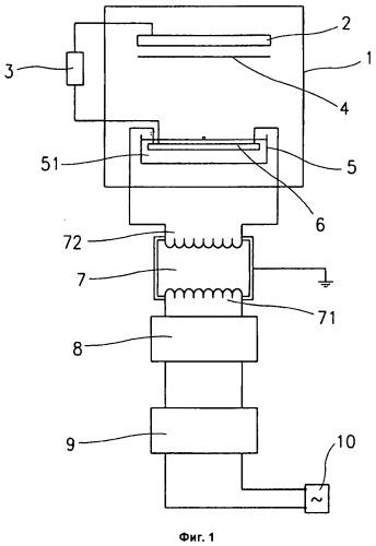 Способ и устройство для формования волокна из полимерной матрицы в электростатическом поле