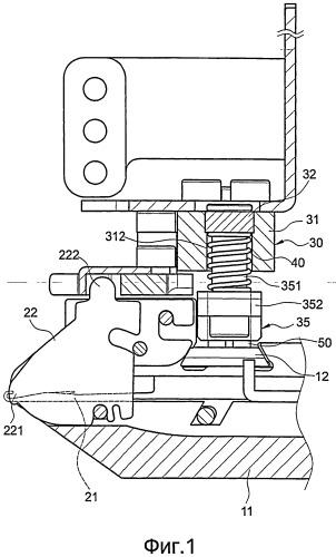 Устройство управления платинами для плосковязальных машин