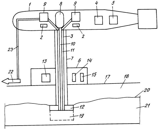 Способ добычи подводных залежей газовых гидратов и подводный добычный комплекс газовых гидратов