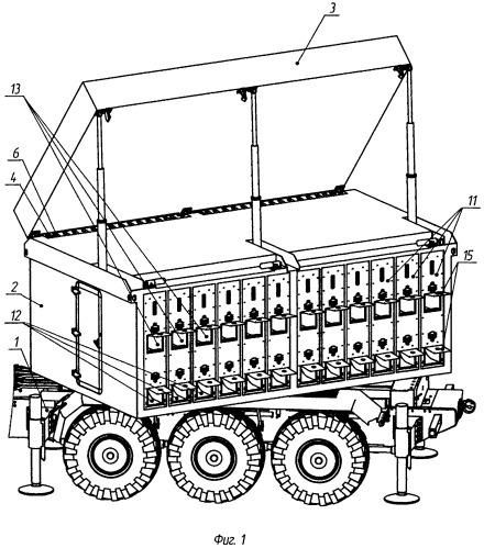 Система жидкостного охлаждения мобильного объекта