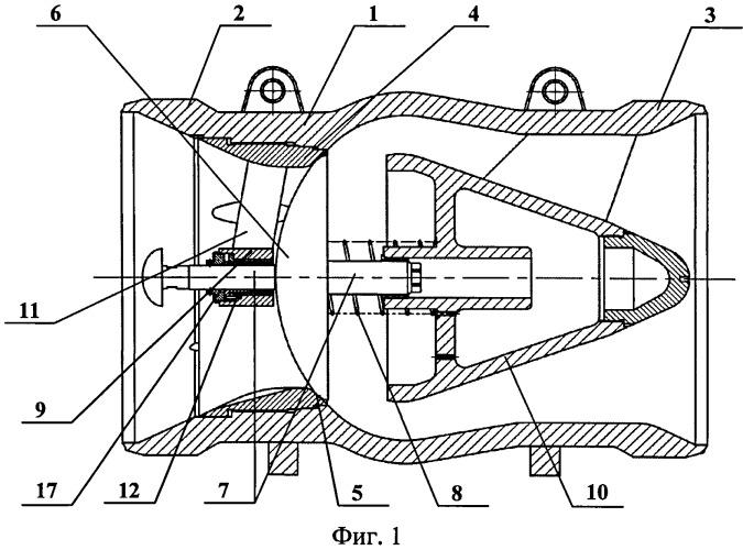 Клапан обратный с осевым направлением потока