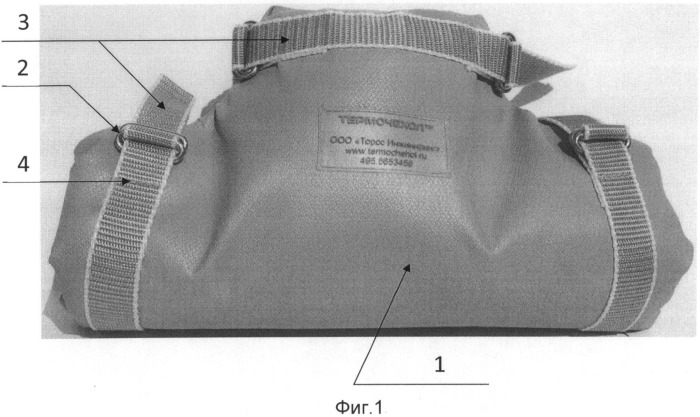 Мобильный теплозвукоизоляционный модуль для объектов сложной геометрической формы